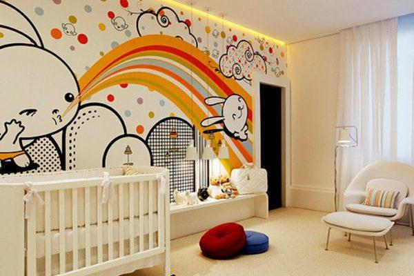 décoration murale fresque