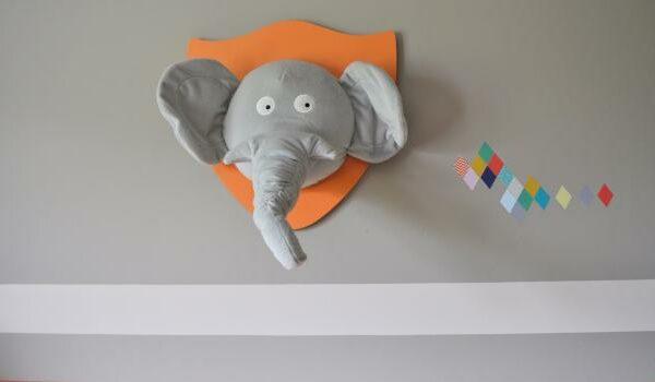 décoration murale tete animale