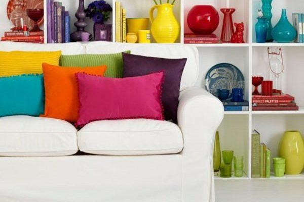 Chaque case a ses objets colorés