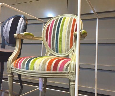 Chaise relookée chez 4MURS