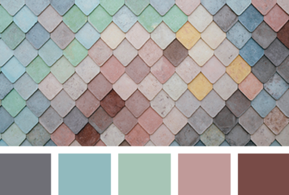 Color Palette 4109 - associer le rose en décoration