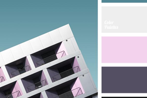 Color Palette 4183 - associer le rose en décoration
