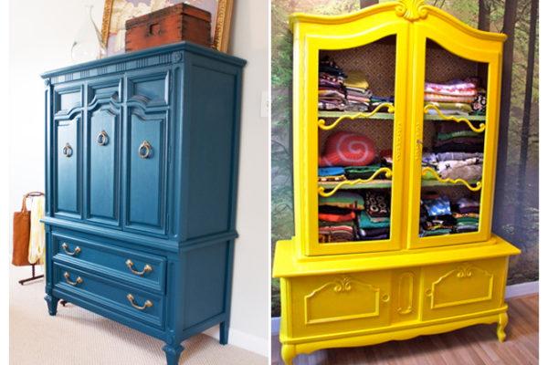 MAISONDECO: peindre un meuble ancien