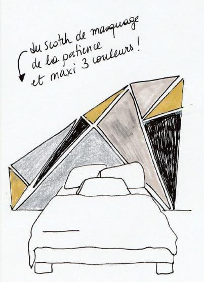 Avoir la tête dans la déco: les têtes de lit