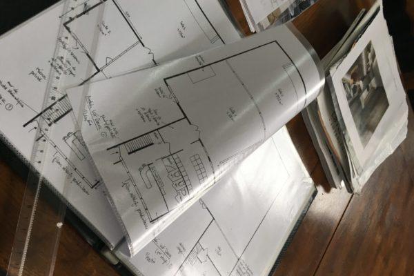Plan au sol et planches d'ambiance