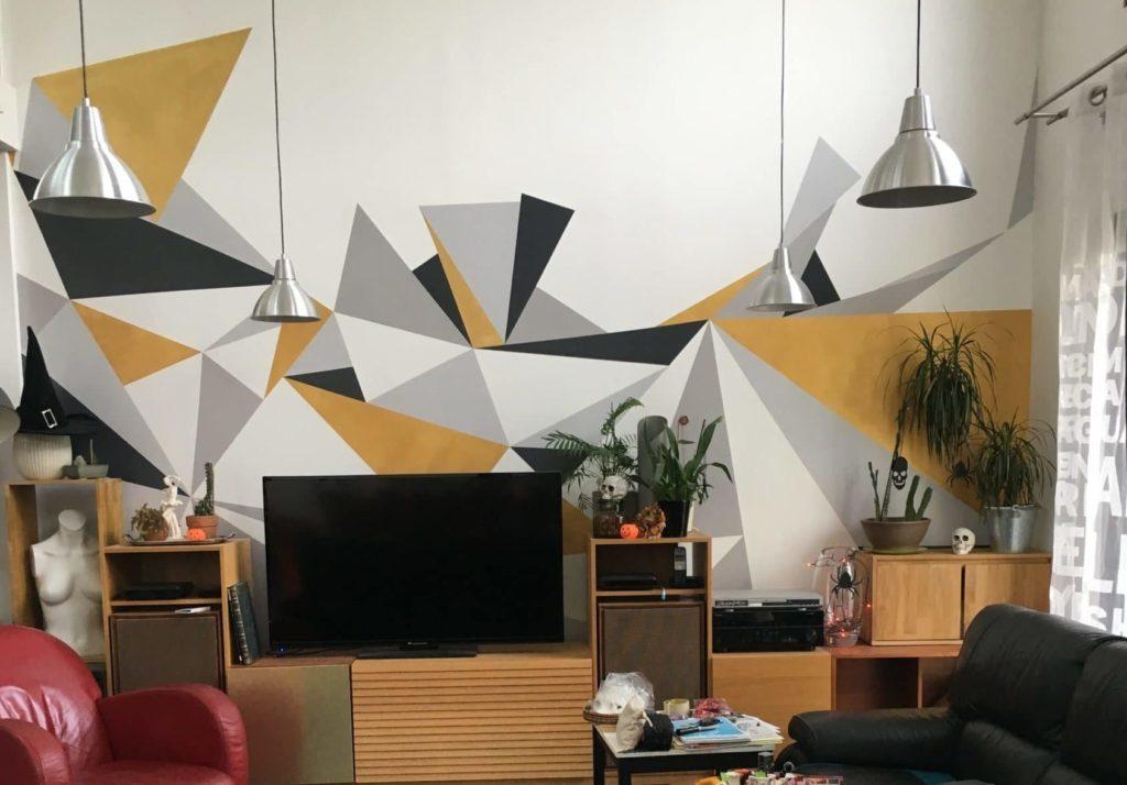 idée de décoration murale: la fresque