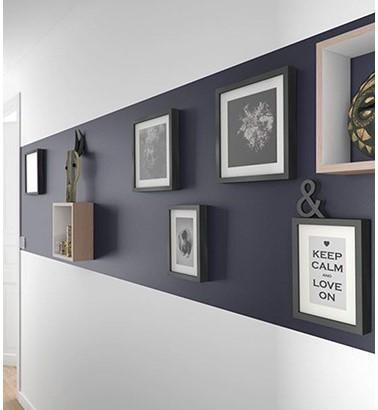 Quelle couleur choisir en déco - Marquer la longueur d'un couloir