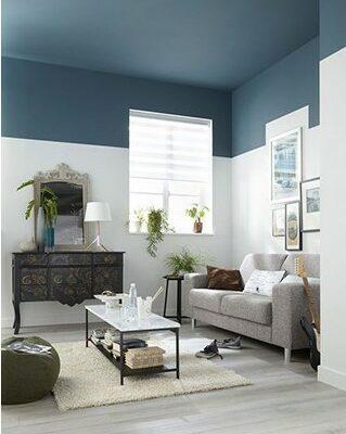 Quelle couleur choisir en déco - Rabaisser la hauteur sous plafond