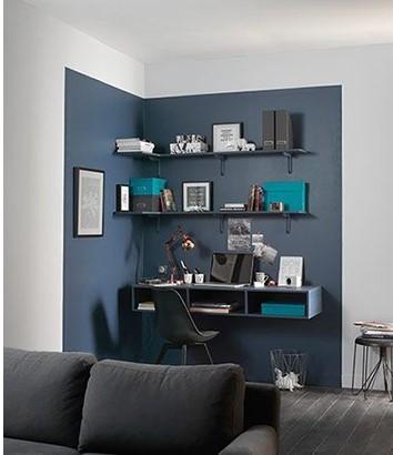Quelle couleur choisir en déco - installer un coin bureau