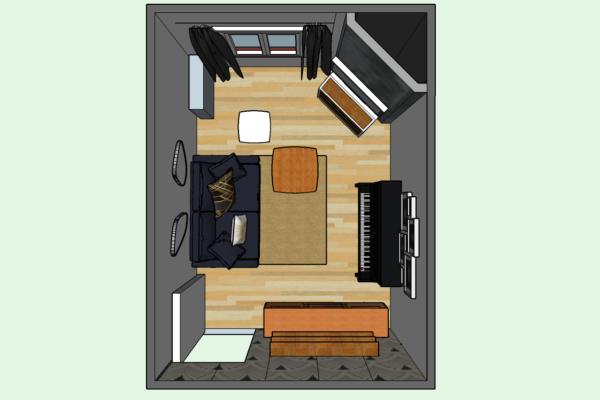 Transformer une chambre en salon