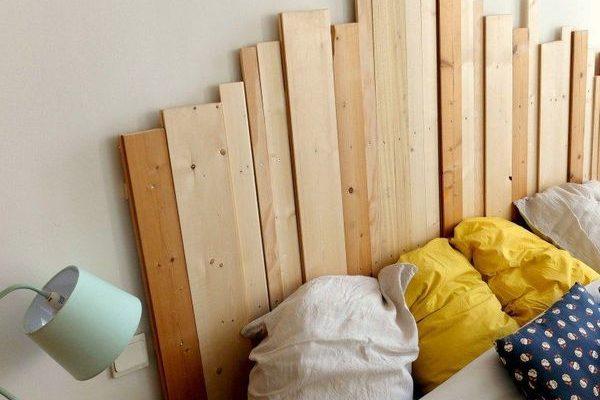 tête de lit DIY Pinterest