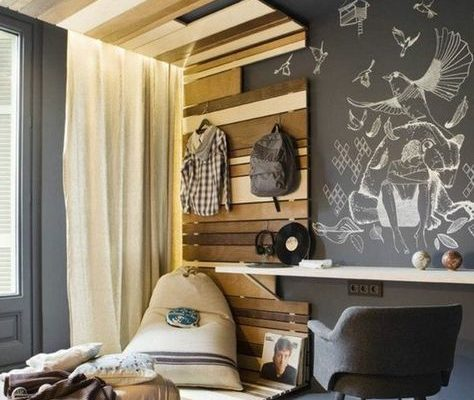 chambre ado Archzine via Pinterest