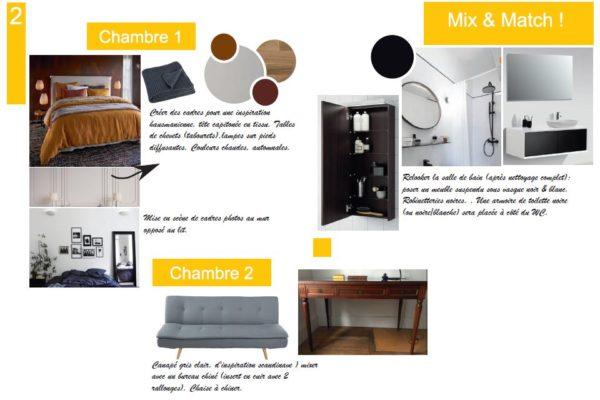Planche ambiance duplex 2 - MixMatch étage