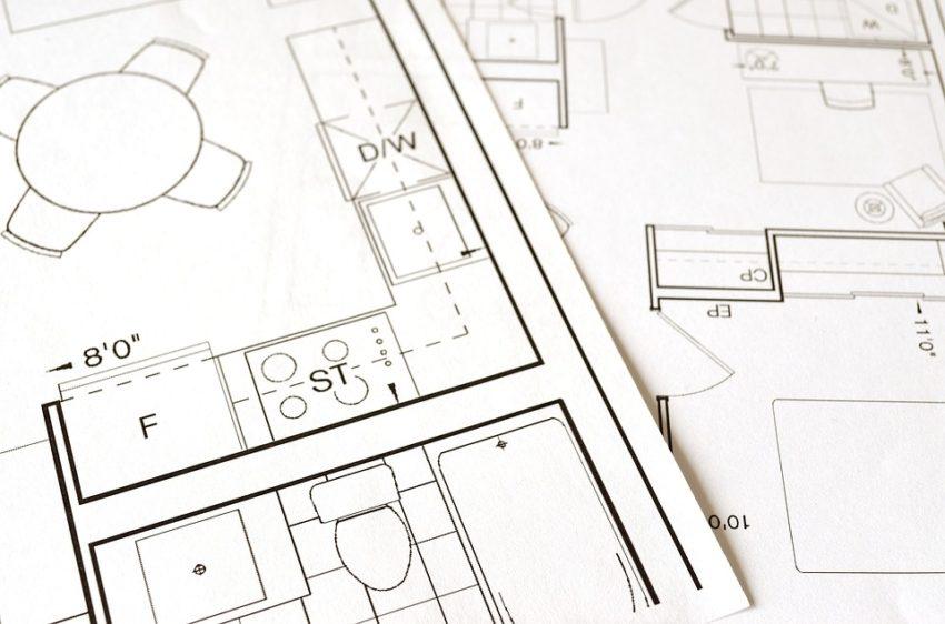 Dessin architectural pour prestation sur plan